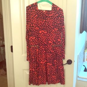 Juicy Couture Heart Print Dress